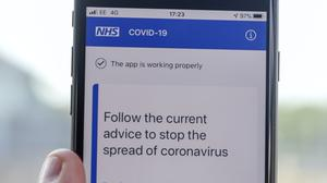 The NHS coronavirus contact tracing app is being trialled on the Isle of Wight ahead of a national rollout (Steve Parsons/PA)