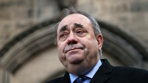 Alex Salmond was awarded £500,000 after his successful Court of Session case (Jane Barlow/PA)