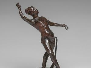 Dancer with a Tambourine, by Edgar Degas (Jaymes Sinclair/The Fitzwilliam Museum/PA)
