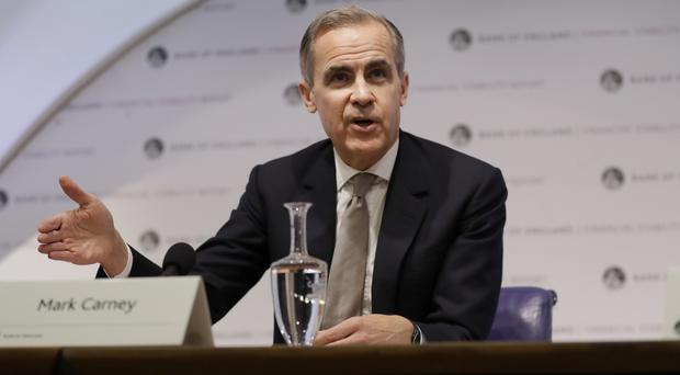 Mark Carney, governor of the Bank of England (Kirsty Wigglesworth/PA)