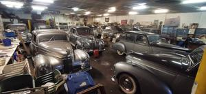 Some of the Humber vehicles due to be auctioned (Hansons/PA)