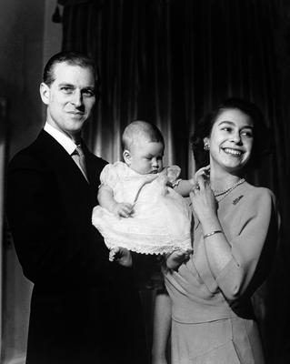 Princess Elizabeth and the Duke of Edinburgh had their first child, Prince Charles, in 1948 (PA)