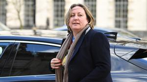 International Development Secretary Anne-Marie Trevelyan is self-isolating after being in contact with Health Minister Nadine Dorries (Stefan Rousseau/PA)
