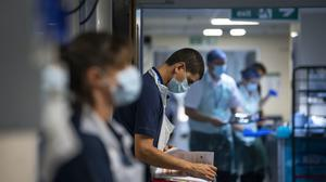 Medics may be getting more skilled at treating patients, researchers suggested (Victoria Jones/PA)