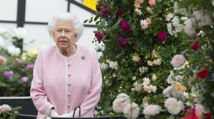 The Queen at the Chelsea Flower Show in 2018 (Richard Pohle/The Times/PA)