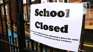 New research from King's College London provides some insight on the effectiveness of school closures in preventing the spread of Covid-19 (Tim Goode/PA Wire)