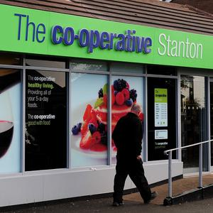 Steve Murrells, of the Co-operative Group, said many customers 'objected to their children being able to see overt sexual images in our stores'