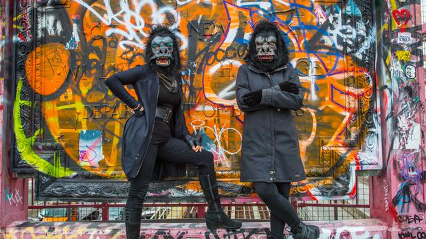 Guerrilla Girls will feature in the festival (Guerrilla Girls/Art Night/PA)