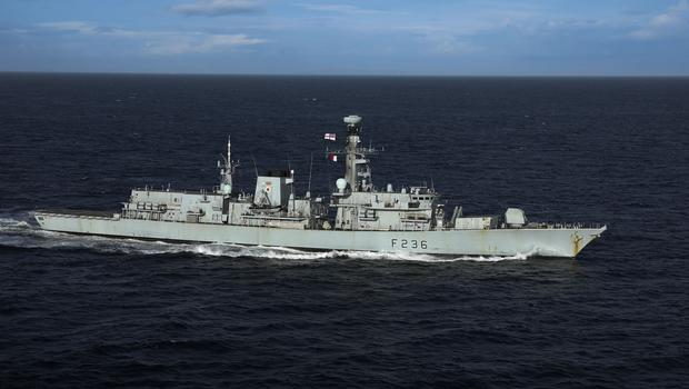 The type 23 frigate HMS Montrose (Ministry of Defence/PA)