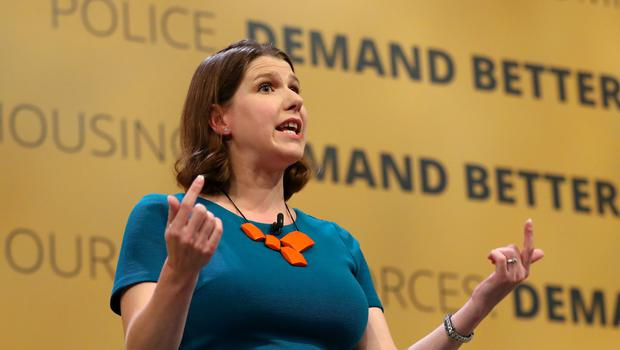 Liberal Democrats deputy leader Jo Swinson speaks at the party's Autumn Conference at the Brighton Centre in Brighton.