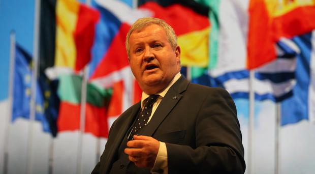 Westminster SNP leader Ian Blackford warned of an increased threat of a no- deal Brexit (Andrew Milligan/PA)