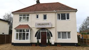A residential property in Earlham Road, Norwich, which is reportedly operating as a restaurant during lockdown (Joe Giddens/PA)