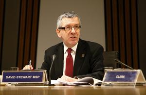 Scottish Labour MSP David Stewart raised the issue of home security at Holyrood on Thursday (Andrew Cowan/PA)
