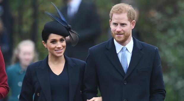 Meghan and Harry are quitting as senior royals (Joe Giddens/PA)