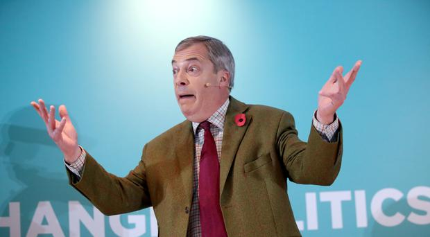 Nigel Farage (Danny Lawson/PA)