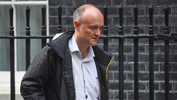 Boris Johnson's adviser Dominic Cummings said there was 'a very real possibility' of another hung parliament (Kirsty O'Connor/PA)