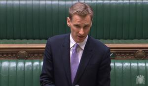 Chris Philp was answering questions in the House of Commons (House of Commons)