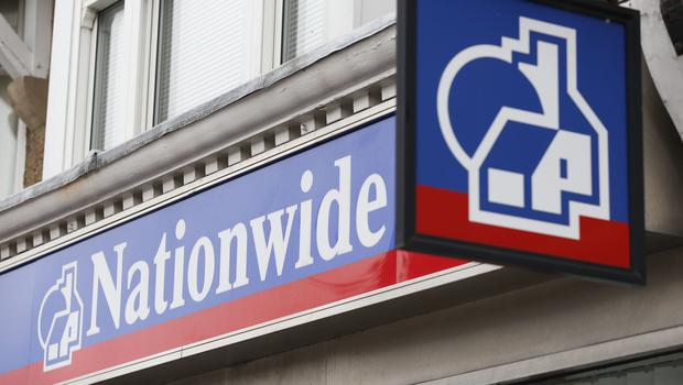 "Nationwide Building Society has posted its second year in a row of falling profits as ""intense competition"" hit demand for savings and mortgage lending."