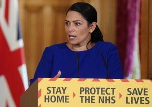 Priti Patel is expected to outline the plans at the Downing Street press conference (Pippa Fowles/10 Downing Street/Crown Copyright)