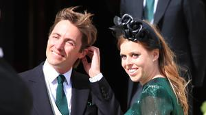 Beatrice and Edo have cancelled their wedding reception (Peter Byrne/PA)