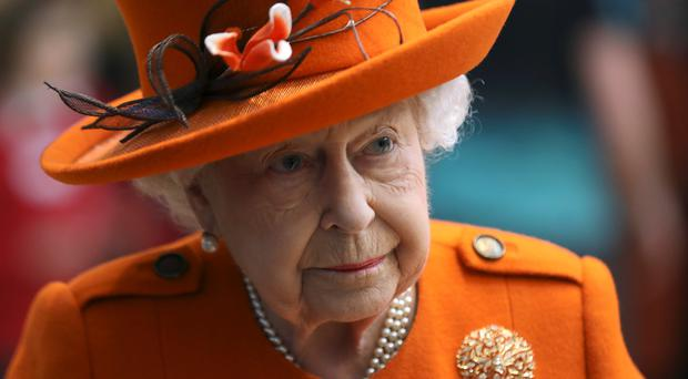 The Queen has sent a message of support (Simon Dawson/PA)