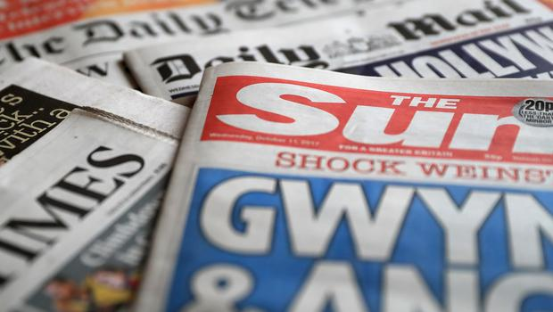 What the papers say – September 26 (PA)