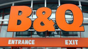 BandQ have reopened all their UK stores (Paul Faith/PA)