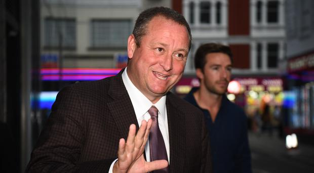 Sports Direct CEO Mike Ashley launched a tirade against Goals Soccer Centre (PA)