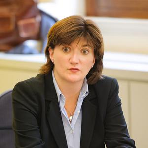 Nicky Morgan has been installed as Women's Minister