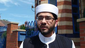 Qari Asim called for togetherness in response to the attack (Dave Higgens/PA)