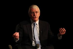 Sir John Major said it would be a 'mistake' to put up taxes to pay for the Covid downturn (Scott Heppell/PA)