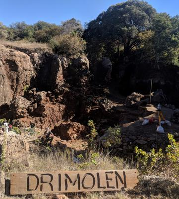 The Drimolen fossil site in the Cradle of Humankind, near Johannesburg (Andy Herries/La Trobe University)