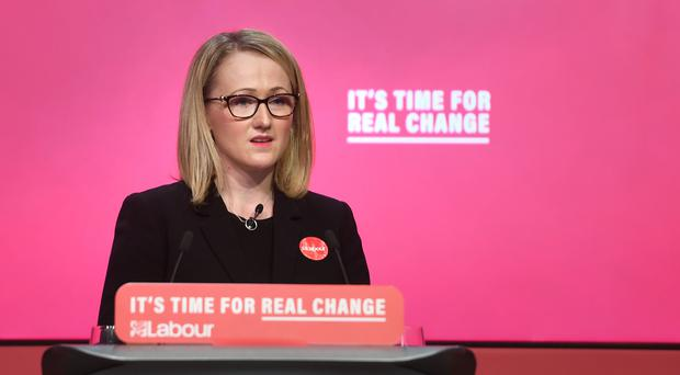 Shadow business secretary Rebecca Long-Bailey is being backed in the Labour leadership race by Angela Rayner (Joe Giddens/PA)