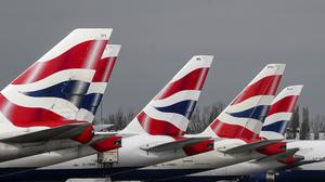 The repatriation flights were arranged by the Foreign Office in partnership with British Airways (Steve Parsons/PA)
