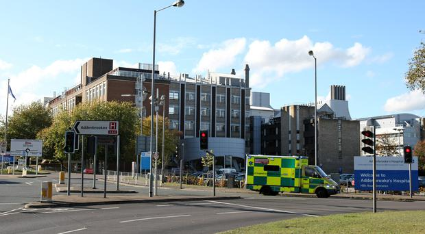 Addenbrooke's Hospital (Chris Radburn/PA)