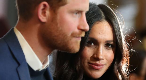 The Duke and Duchess of Sussex announced plans to divide their time between the UK and North America (Andrew Milligan/PA)