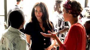 The Duchess of Sussex visiting Victoria Yards, a regeneration project in Johannesburg, South Africa (SussexRoyal/PA)