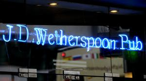 Wetherspoons has said sales slumped by 16.9% since reopening in July (Tim Ireland/PA)