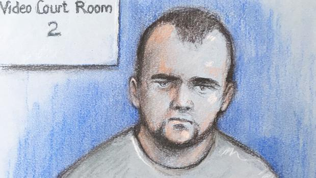Court artist sketch by Elizabeth Cook of Reece Dempster (Elizabeth Cook/PA)