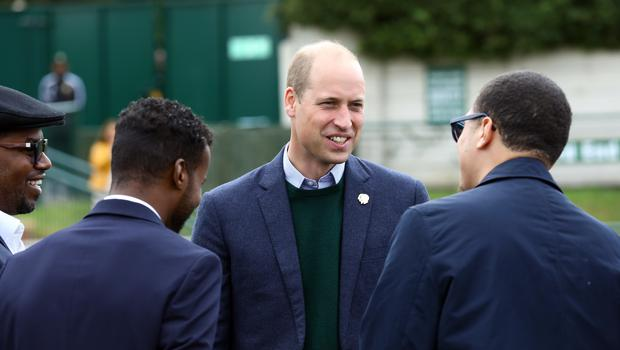 Duke of Cambridge during his visit to Hendon FC (Tim Whitby/PA)