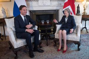 Dutch prime minister Mark Rutte visited Theresa May for talks at Downing Street earlier this year (Stefan Rousseau/PA)