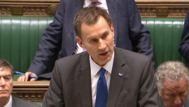 Health Secretary Jeremy Hunt told MPs there had been a serious failure in a cancer screening programme (PA)