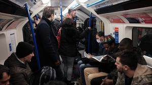 There is growing concern about crowded Tube carriages (Yui Mok/PA)