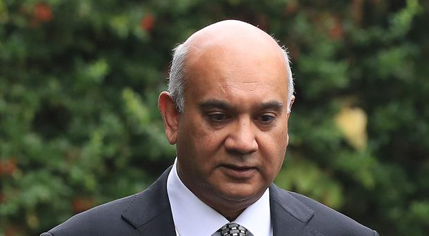 Keith Vaz was making his political comeback after being banned from the Commons (Jonathan Brady/PA)