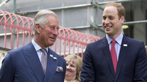 The Prince of Wales shared his love of the environment with his son the Duke of Cambridge (Justin Tallis/PA)