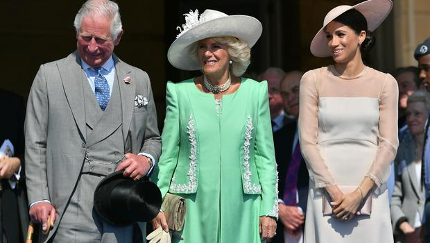 The Prince of Wales is celebrating his 70th birthday at the garden party (Dominic Lipinski/PA)