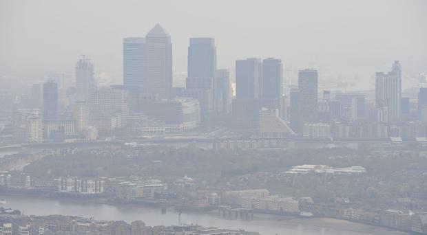 Air pollution report