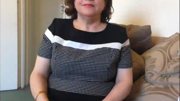 Sakineh Afrasiabi was a grandmother with health issues (Grenfell Tower Inquiry/PA)