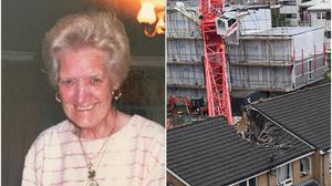 June Harvey died in the house in bow (Family handout/Victoria Jones/PA)