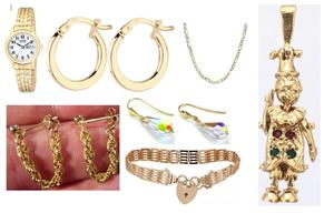 Northamptonshire Police have released photographs of the jewellery in the hope of catching the culprits (Northamptonshire Police/PA)